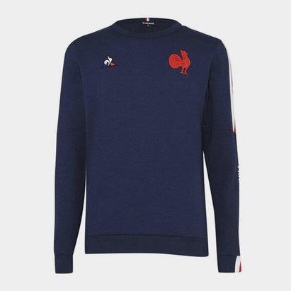 Le Coq Sportif France Crew Neck Sweatshirt Mens