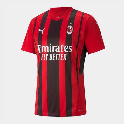 Puma AC Milan Home Shirt 2021 2022 Junior