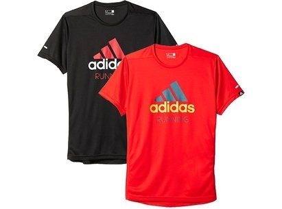 adidas AW16 Mens Sequentials PES Climalite Logo Running T-Shirt
