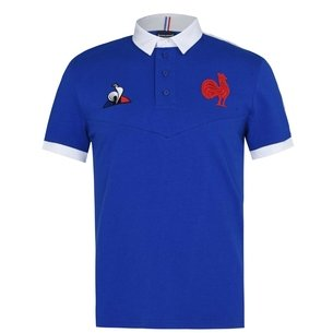 Le Coq Sportif France 20/21 Home S/S Classic Shirt Mens