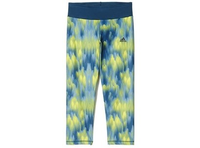 adidas AW16 Womens WOW 3 Print 3/4 Tights