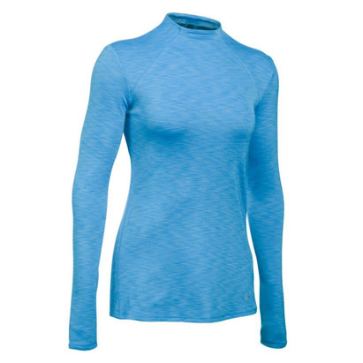 Under Armour ColdGear Womens Mock Neck Fitted Long Sleeve Baselayer Top - AW16