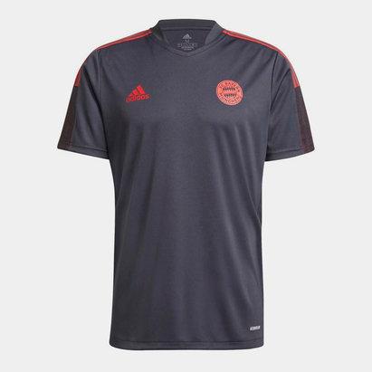 adidas Bayern Munich Training Shirt 2021 2022 Mens