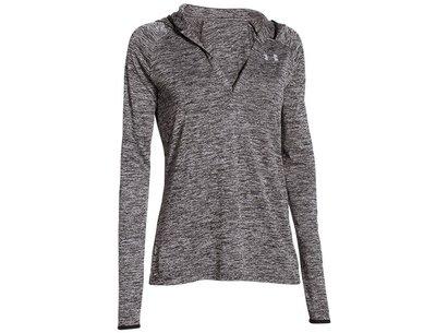 Training Womens AllSeasonGear Tech Hooded T-Shirt - Twist