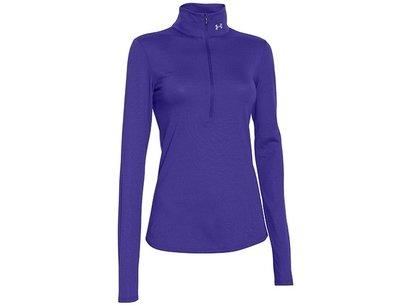 Under Armour Running Womens Streaker HeatGear Fitted Long Sleeve Zip Top - AW16