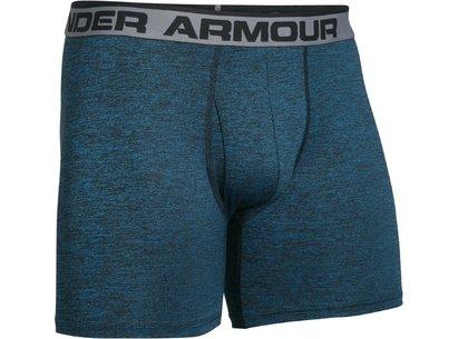 Under Armour HeatGear Mens Original 6inch Boxer Jock - Twist AW16