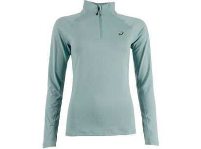 Asics AW16 Womens Long Sleeve 1/2 Zip Running Top