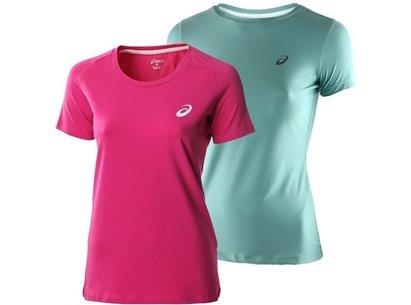 Asics AW16 Womens Short Sleeve Running T-Shirt