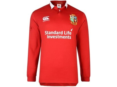6c7a3de3e0c Canterbury British and Irish Lions Mens Matchday CLASSIC Long Sleeve ...