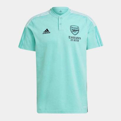 adidas Arsenal Training Polo Shirt 2021 2022 Mens