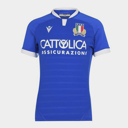 Macron Italy Authentic Home Jersey Mens