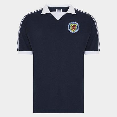 Score Draw Scotland 1978 Replica Home Shirt
