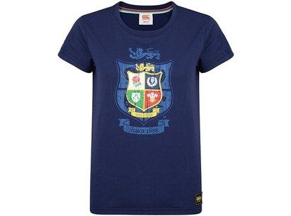 Canterbury British and Irish Lions Womens Crest T-Shirt