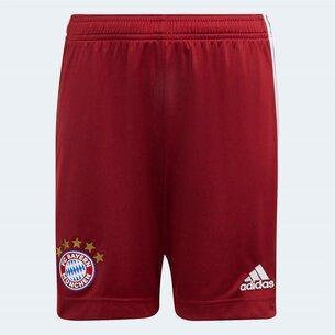 adidas Bayern Munich Home Shorts 2021 2022 Junior