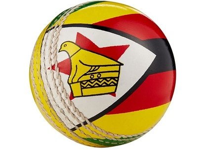 Hunts County Flag Cricket Ball - Zimbabwe