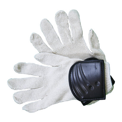 OBO Cotton Hockey Goalkeeping Left Hand Inner Glove With Pad