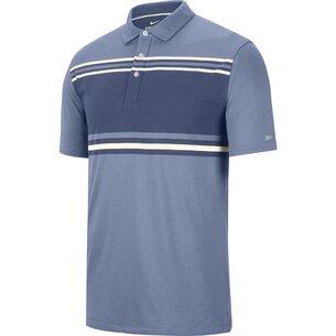 Nike Dry Player Stripe Polo Shirt Mens