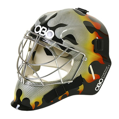 OBO FG Flame Hockey Goalkeeping Helmet
