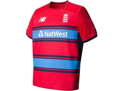 New Balance England Cricket Junior T20 Replica Shirt