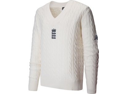 New Balance England Cricket TEST Stadium Cricket Jumper