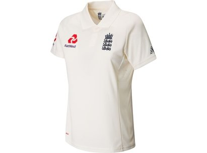 New Balance England Test Shirt Ladies