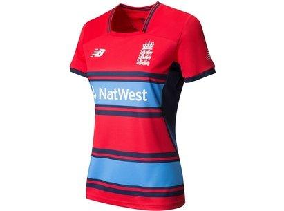 New Balance England Cricket Womens T20 Replica Shirt