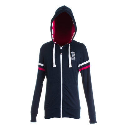 England Cricket Ladies Classic Zip Hoody