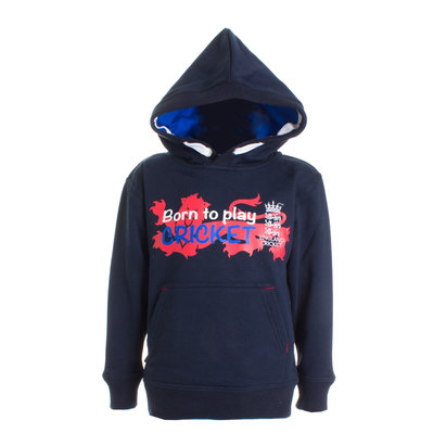 England Cricket Cricket Born To Play OTH Hoodie Boys