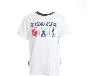 England Cricket a Future T Shirt Junior Boys