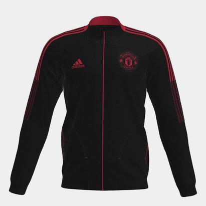 adidas Manchester United Anthem Jacket 2021 2022 Junior