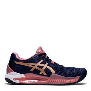 Asics Gel Resolution 8 Womens Tennis Shoes