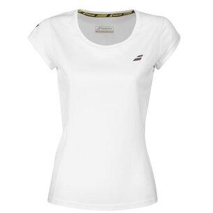 Babolat Core Flag Tennis Club T Shirt Ladies
