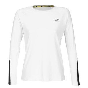 Babolat Core Long Sleeve Tennis T Shirt Ladies