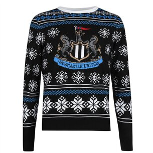 NUFC Newcastle United Nordic Christmas Jumper