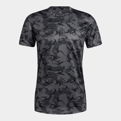 adidas 3B Camo T Shirt Mens