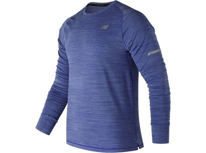 New Balance Mens Seasonless UPF Long Sleeve Running Shirt