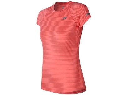 New Balance Womens Seasonless SS Running Shirt