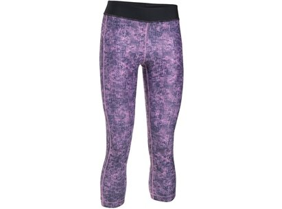 Under Armour Womens HeatGear Capri Tights
