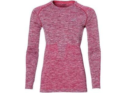 Asics AW17 Womens Long Sleeve Seamless Running T-Shirt