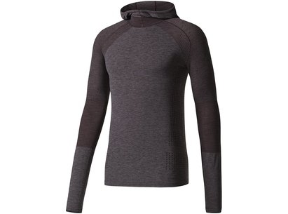 adidas AW17 Mens Climaheat Primeknit Hooded Tee