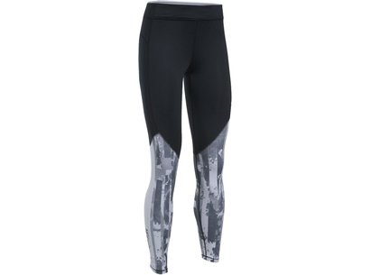 Under Armour Womens ColdGear Printed Running Leggings