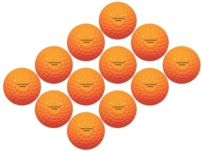 Dimension Sport Home Ground Hockey Machine - Pack of 12 balls