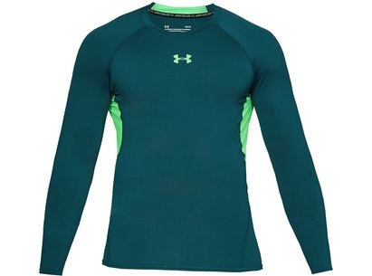 Under Armour 2018 Heatgear Armour Mens Training Long Sleeve Compression Top