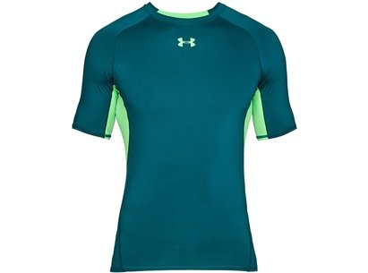 Under Armour 2018 Heatgear Armour Mens Training Short Sleeve Compression Top