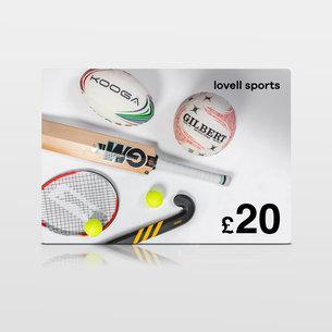 Lovell Sports £20 Virtual Gift Voucher