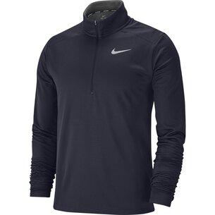 Nike Half Zip Core Long Sleeve Running Top Mens