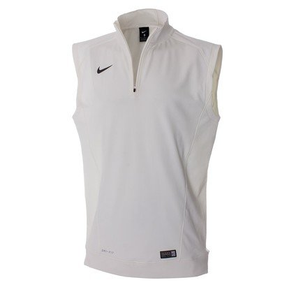 Nike 1/4 Zip Sleeveless Cricket Jumper