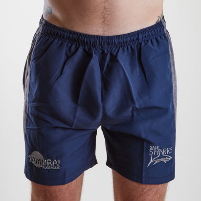 Samurai Sale Sharks 2018/19 Players Rugby Training Shorts