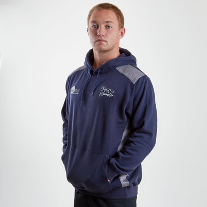 Samurai Sale Sharks 2018/19 Overhead Hooded Rugby Sweat