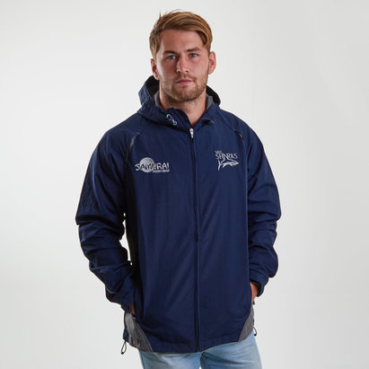 Samurai Sale Sharks 2018/19 Players Showerproof Rugby Jacket